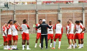 Escuadra 'blanquirroja' sigue con los entrenamientos de cara al amistoso ante Ecuador
