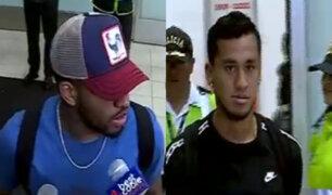 Farfán y Tapia llegaron a Lima para amistoso ante Ecuador