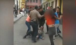 Rímac: golpean a policías para evitar detención de presunto delincuente