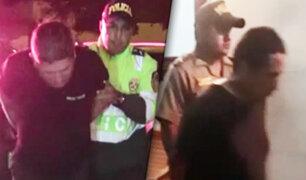 Chimbote: capturan a tres delincuentes que se hacían pasar como policías