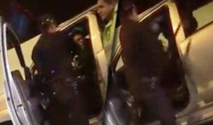 Trujillo: conductor arrastra a policía y se da a la fuga durante intervención