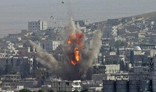 Medio Oriente: se intensifica bombardeos entre Israel y Gaza