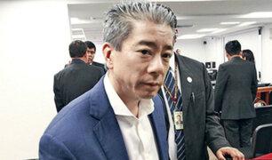 Juez Concepción ordenó 36 meses de prisión preventiva contra Jaime Yoshiyama