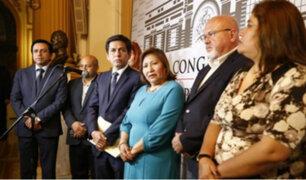 Bancada de Peruanos por el Kambio nombró a nuevos portavoces