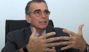 Pedro Olaechea afirma que hay signos de cambios de modelo económico en el Gobierno