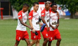 Entre bromas y buen humor la Selección Peruana entrena a caras del amistoso con Ecuador