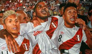 Perú vs Ecuador: Mural en Estadio Nacional conmemora regreso al Mundial [FOTOS]