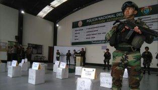 Piura: decomisan más de media tonelada de droga que iba hacia Bélgica