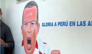 Estadio Nacional: reinauguran cabina 'Daniel Peredo'