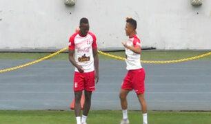 Selección Peruana entrenó en el Estadio Nacional