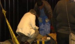Hombre muere tras ser apuñalado en plena calle de La Victoria