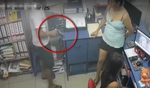 Pucallpa: cámara capta asalto en agencia de viajes