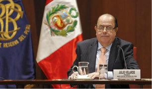 Julio Velarde aseguró que Vizcarra no estaba preparado para ser presidente
