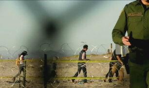 Más de 1500 migrantes llegaron a la frontera con Estados Unidos