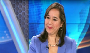 """Nidia Vílchez: """"Impedimento de salida a Alan García es una persecución política"""""""