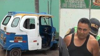 Detienen a mototaxista acusado de secuestrar, dopar y violar a menor de 13 años