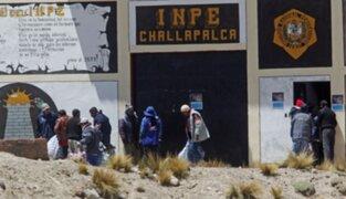 INPE descartó traslado de internos tras motín en penal de Challapalca