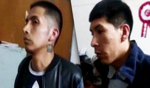San Martín de Porres: detienen a delincuentes que habían asaltado panadería y una cúster