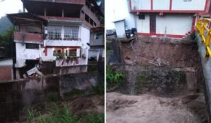Pasco: río Negro se desborda causando destrozos en Pozuzo