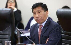 Aeromoza ratificó denuncia contra Mamani por tocamientos indebidos