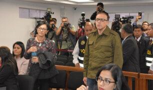 Ana Herz y Pier Figari fueron trasladados a penales de la capital