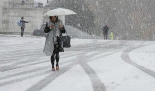EE.UU: tormenta de nieve dejó cerca de ocho fallecidos