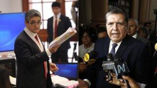 Poder Judicial dicta impedimento de salida contra Alan García