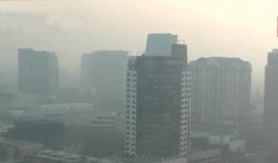 San Francisco: ciudadanos usan mascarillas para protegerse de humo tóxico