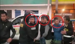 La Victoria: policía captura a la peligrosa banda 'Los Buitres del Pino'