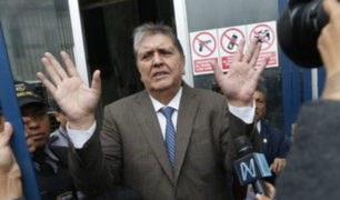 Prensa internacional informó sobre rechazo de asilo político a Alan García