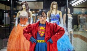 Piden ayuda para el 'Superman peruano' por grave enfermedad