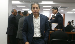Dictan 36 meses de impedimento de salida del país contra Jorge Yoshiyama