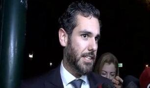 Hijo del expresidente Alan García habló sobre situación de su padre