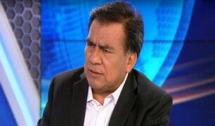 """Javier Velásquez Quesquén:""""Actualmente en el Perú hay una democracia muy débil"""""""