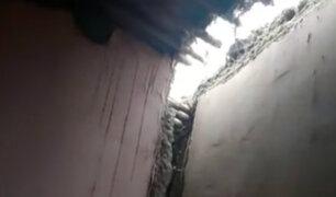 Sismo en región Áncash dejó varios daños materiales