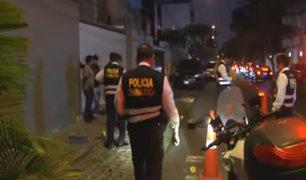 Miraflores: empresario disparó contra hampones que intentaron robarle 45 mil soles