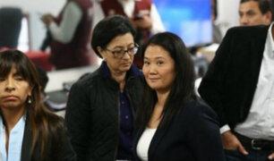 PJ : apelación de Keiko Fujimori se verá de acuerdo a agenda judicial