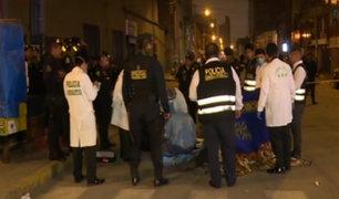 La Victoria: policía abatió a presunto delincuente tras intensa balacera