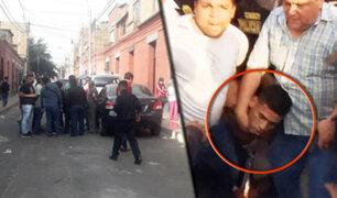 Examen biométrico revela verdadera identidad del asesino de dos policías en el Rímac
