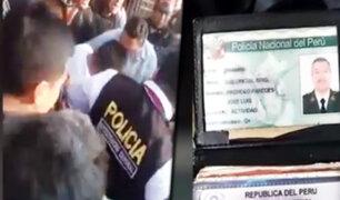 Dos policías asesinados: aparecen nuevas imágenes de la balacera en el Rímac