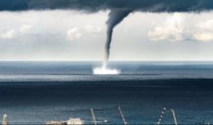 Tromba marina al sur de Italia deja dos heridos