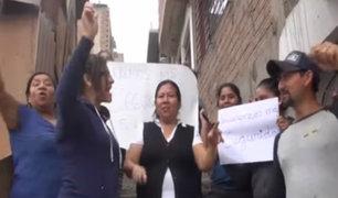 SJL: vecinos claman ayuda para frenar la inseguridad ciudadana