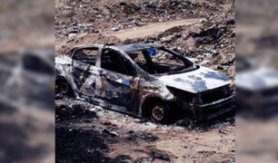 Trujillo: hombre fallece tras ser quemado vivo al interior de vehículo