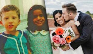Amor Real: de niños se prometieron amor y 25 años después se casaron