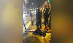La Victoria: policía de tránsito habría arrollado a anciano