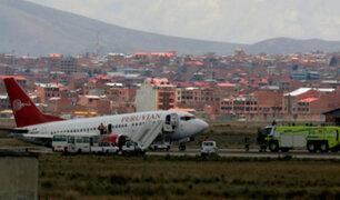 Gerente de Peruvian Airlines se pronunció tras incidente en aeropuerto de La Paz