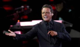 Luis Miguel pidió disculpas por quejas en sus conciertos