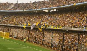 Más de 50 mil hinchas acudieron a ver entrenamiento de Boca Juniors