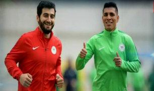 Paolo Hurtado se recuperó de lesión y ya entrena con el Konyaspor