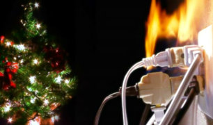 Sepa cómo prevenir los incendios en fiestas navideñas y de fin de año